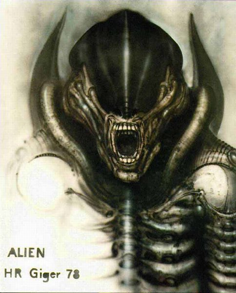H.R GIGER - O ESTETA DO HORRENDO Giger_alien
